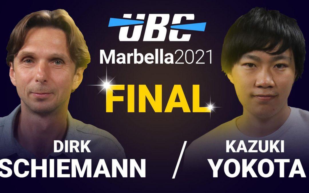 Dirk Schiemann gewinnt UBC-Kandidatenturnier in Marbella